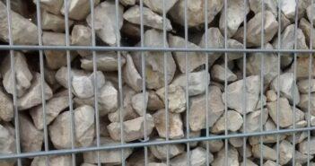 Gabionen: Gabionenwand heißt der neue Trend im Garten