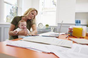 Homeoffice: Gerade für Mütter hört sich die Idee super an. (#01)