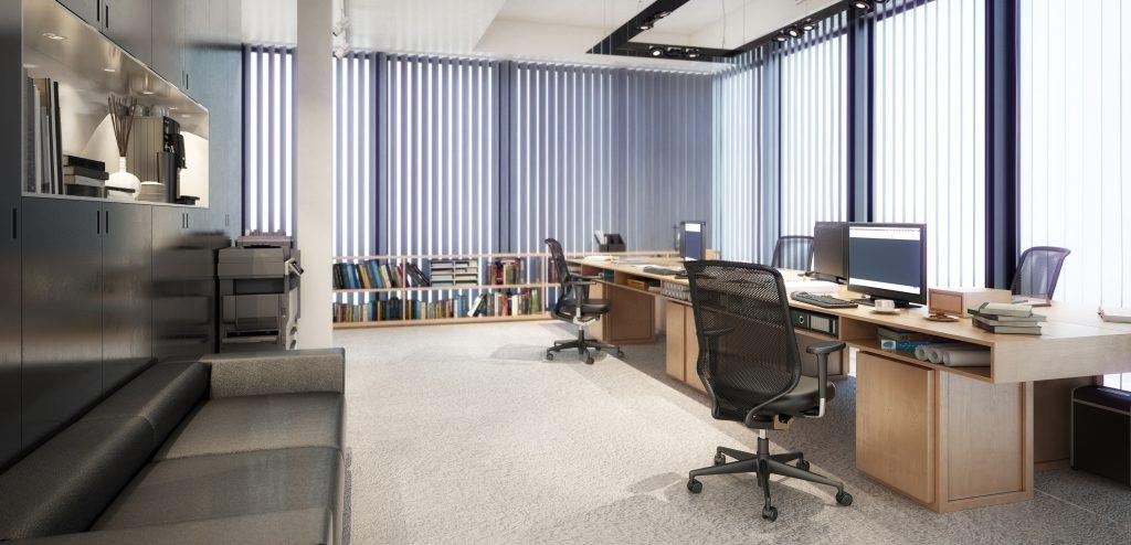 Ein Büro zum Wohlfühlen sorgt für zufriedenere produktive Mitarbeiter. Die Funktionalität ist trotzdem essentiell – nur auf bequemen Stühlen kann man entspannt acht Stunden und mehr verbringen - doch muss es wirklich so edel sein? (#01)