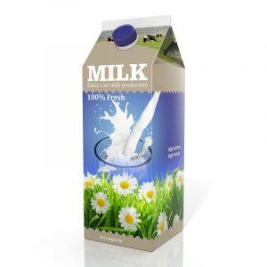 Nicht selten ist das Produkt bei diversen Werbemaßnahmen nur in seiner Verpackung zu sehen – Waschmittel oder Milch sind Beispiele hierfür. (#01)