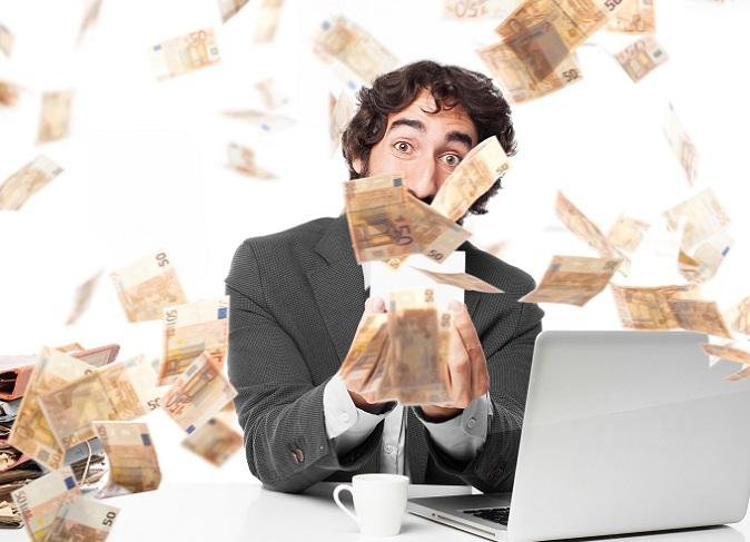 Die sicherste Variante wie man Millionär werden kann, ist immer noch die Arbeit. Harte Arbeit. Arbeit ohne Unterlass. Arbeit, Arbeit, Arbeit. (#02)