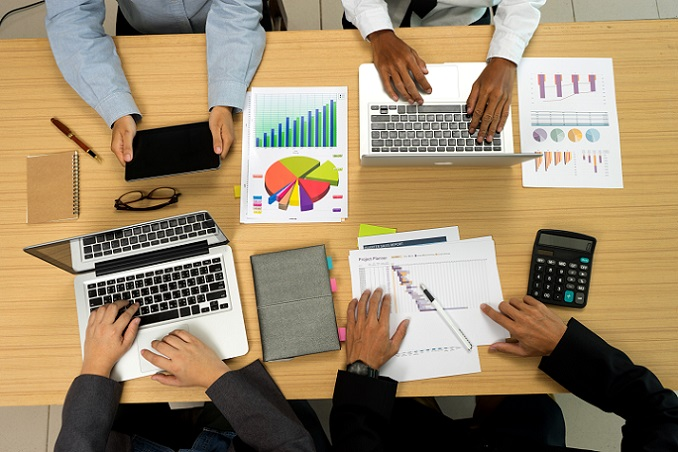 Planungsgespräch in einem Start-Up Unternehmen (#01)