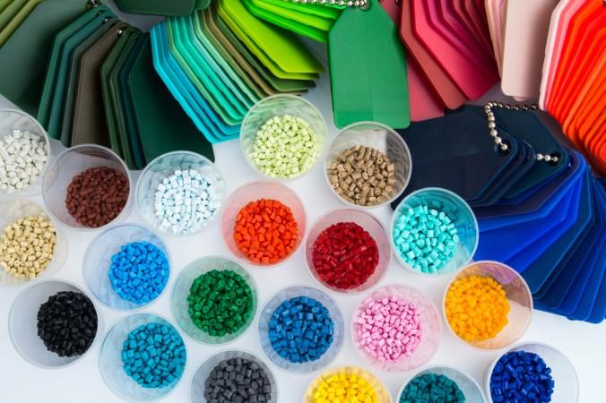 Das Polymer Granulat gibt es in unendlich vielen Farben. (#2)