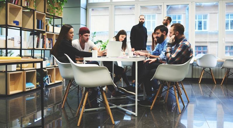 Kleine Teams in schicken Büros - So sehen viele Startups aus.(#01)