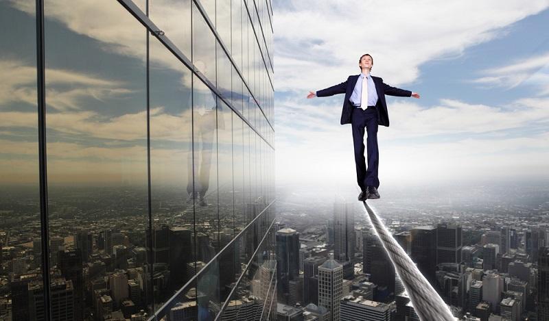Venture Capitalist Geber gehen ein hohes Risiko ein. (#05)