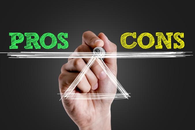 Vor der finalen Entscheidung CFD Trading als Einkommensquelle zu nutzen, sollten Sie ganz individuell das Pro und Contra abwägen. (#5)