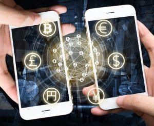FinTech Unternehmen nutzen die neuen digitalen Technologien. (#01)