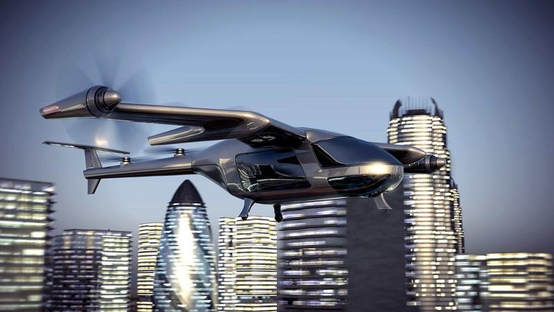Lufttaxi: Wer sich bei der täglichen Fahrt zur Arbeit stundenlang durch den Stop-and-Go-Verkehr quält, kennt den Wunsch, einfach abzuheben und mit einem Flugzeug über das Verkehrschaos zu fliegen. (#01)