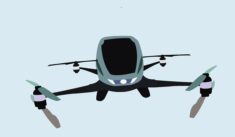 Ein Lufttaxi ist nicht nur ein kleines Flugzeug, sondern muss andere technische Vorgaben erfüllen. (#02)