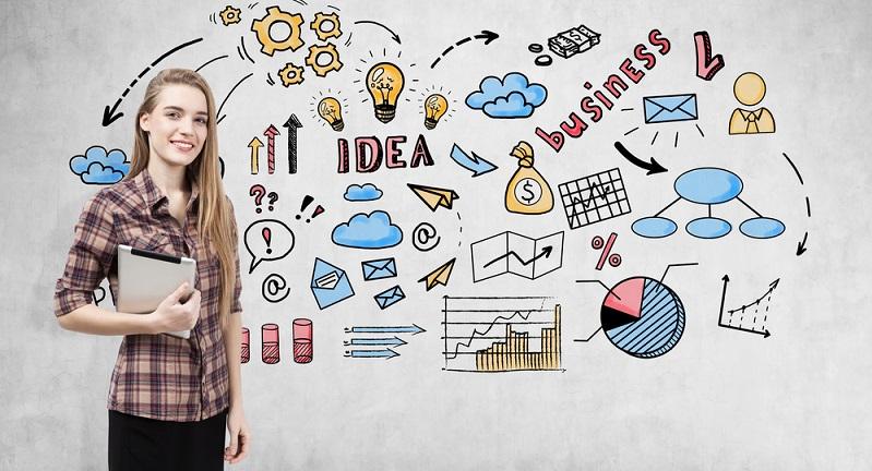 Als Gründer sollte man eine geeignete Marketingstrategie finden und in diesem Zusammenhang die einzelnen Schritte planen. (#01)