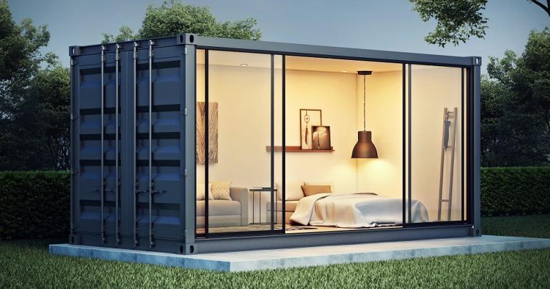 Klar: So praktisch Container auch sind, wünschen sie sich die meisten nicht unbedingt zum Wohnen oder zur Erledigung der Büroarbeit.