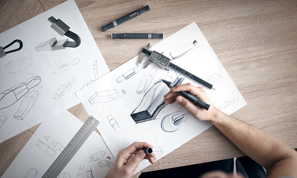 """Crowdfunding in Deutschland kann so erfolgreich sein. Nicht nur, aber auch trägt dazu bei, wenn die Produktgestaltung von einem so renommierten Designbüro wie """"Emami Design"""" in Berlin ausgeführt wird - und gleich zu einem Award-Gewinn führt, wie hier zum """"iF Design Award 2019"""""""