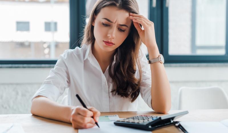 Maßstabszinssatz Arbeitgeberdarlehen: Geld Vorteil muss berechnet werden (Foto: Shutterstock - LightField Studios)