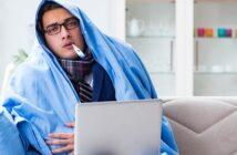 Selbstständig und krank? So gibt es trotzdem Krankengeld & Co. (Foto: Shutterstock-Elnur)