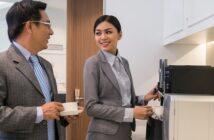 Kaffee + Mitarbeiter: 5 Gründe, warum der Gratis-Kaffee Höchstleistung hervorzaubert (Foto: Shutterstock-Dragon Images )