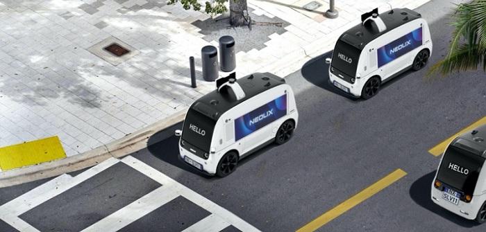 Neolix: Driverless Delivery sorgt für Erleichterungen in Innenstädten (Bildnachweis: NEOLIX )