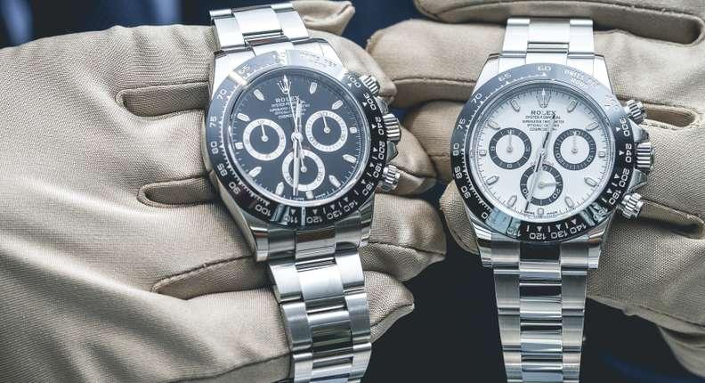 Die wohl teuerste gefälschte Rolex wurde für 20.000 US-Dollar verkauft. ( Foto: Shutterstock - S-Studio )