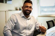 Tipps für mobile Friseure: Startup-Gründer Joseph Botros erleichtert die Vermarktung (Foto: Joseph Botros)